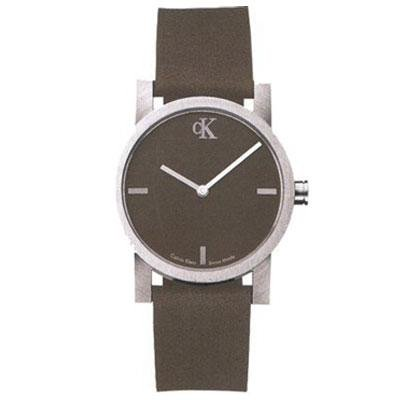 Calvin Klein watch K7111.65 Unisex Quartz Analog Brown