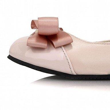 Cómodo y elegante soporte de zapatos de las mujeres pisos primavera verano otoño invierno plataforma comodidad Novelty Charol leatherettewedding oficina y carrera vestido casual fiesta & rosa