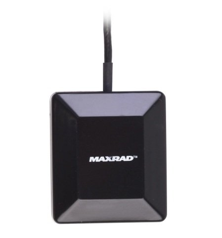 Pctel Maxrad AGPS26GMMSMA GPS Glass Mount Antenna, SMA - Black