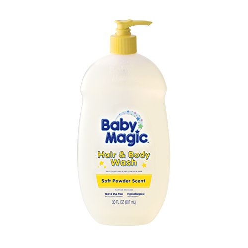 Baby Magic Soft Baby Scent, Hair and Body Wash, 30 Fluid ()