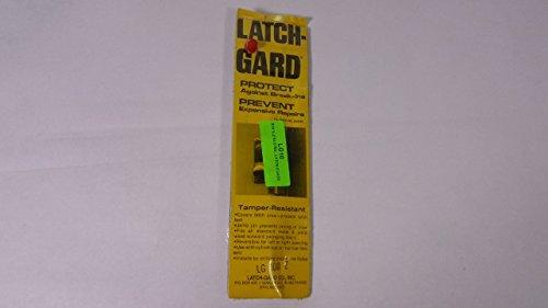 (Dead-Latch LG-100-Z Zinc Plated Reversible Latch-Gard 3
