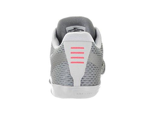 Nike Mens Kobe Xi Scarpa Da Basket Cool Grigio / Squadra Rosso - Lupo Grigio