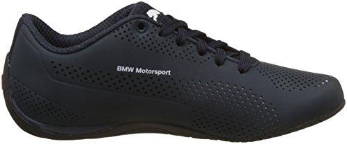 Puma Unisex-Erwachsene BMW MS Drift Cat 5 Ultra Low-Top, 47 EU Blau (team blue-puma white-high risk red 01)