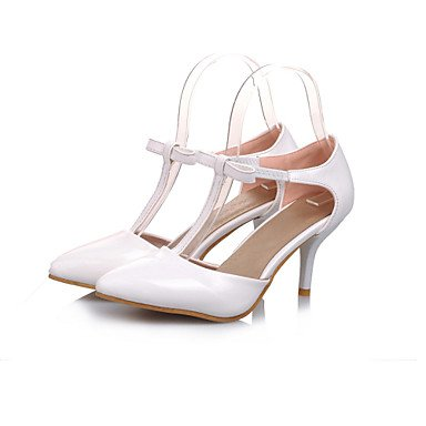 Lace Cirior Pumps Heels Women's Women Toe Patent Stiletto beige Heels Leather High High Oarw0O