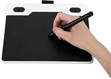 6インチグラフィック描画タブレットでバッテリーフリースタイラス、アート制作/デザイン/Webアプリケーション、サポートほとんどの2D、3D、ビデオのための5080lPIデジタルスケッチパッド