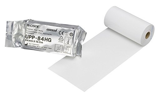 Sony High Gloss Black and White Thermal Print Paper for u...