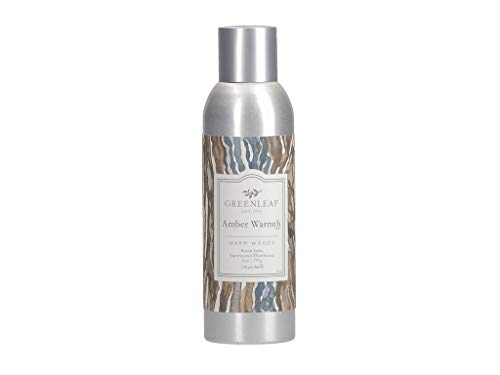 GREENLEAF Air Freshener Room Spray - Amber Warmth - Made in The USA ()