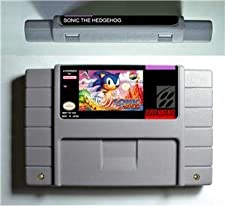 Sonic the Hedgehog - Action Game Cartridge US Version - Game Card For Sega Mega Drive For Genesis