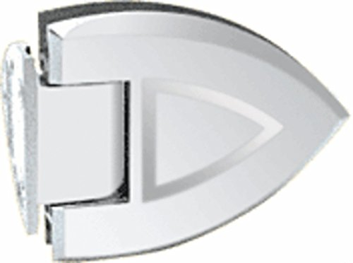 - CRL Cathedral 044 Series Chrome Wall Mount Offset Back Plate Hinge