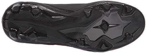 adidas Unisex Predator 19.3 Firm Ground, black/black/active red, 2.5 M US Little Kid by adidas (Image #3)