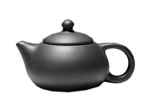 Simple Black Clay Teapot Handcrafted Teapot