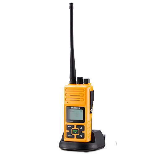 Walkie Talkie, Sanzuco 20 Channel Hands Free 2 Way Radios up to2.5 Miles Long Range Rechargable...