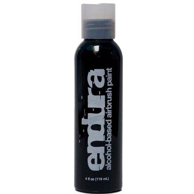 4 oz Black Endura Ink Alcohol Based Airbrush Makeup