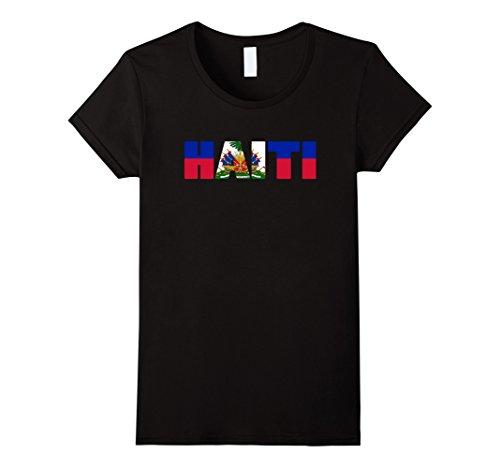 TuffQueen Tees Haiti Flag Shirt