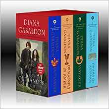 Outlander 4-Copy Boxed Set: Outlander, Dragonfly in Amber, Voyager, Drums of Autumn-[by Diana Gabaldon] - [Mass Market Paperback] :: Best Sold Book in - Time Travel Romances
