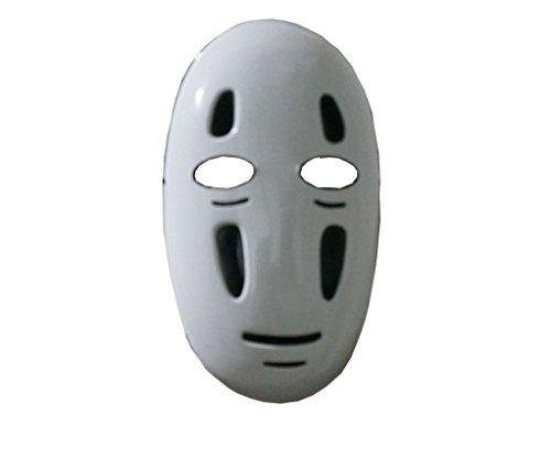 Fantasycart Spirited Away No-Face Faceless Ghibli Mask Cosplay Anime (Faceless Mask Halloween)