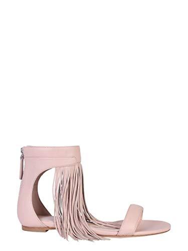 Alexander McQueen Women's 559895Whs4i5860 Pink Leather Sandals