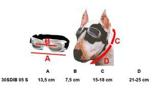 Dogoptics Hundesonnenbrille braun Gr. S