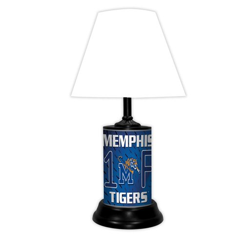 Memphis Tigers NCAA #1 Fan Team Logo License Plate made Desk Lamp with (Tigers College Desk Lamp)