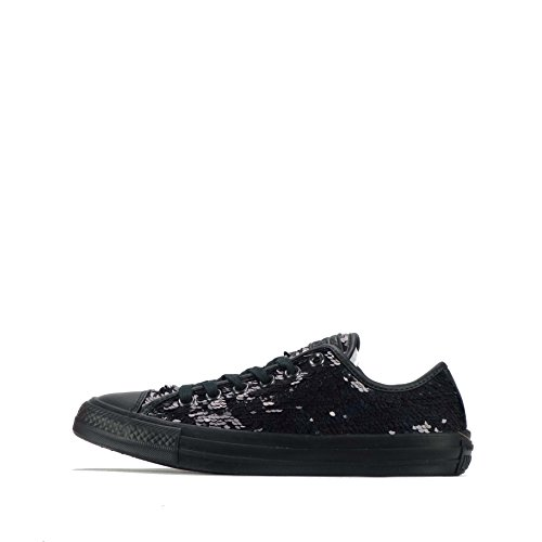 Converse Chuck Taylor All Star Ox Holiday Party Women's Shoes plimsolls Black/Black/Black r15ZEr
