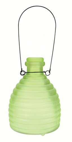 PineBush Glass Wasp Trap Frosted Green