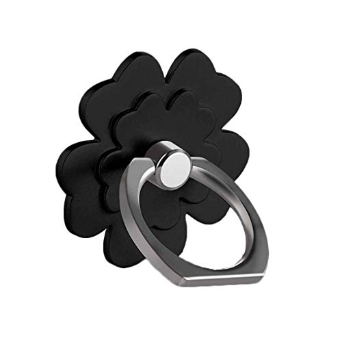 Beaums General Lucky Unique Ring Frame PC Washable Flowers Mobile Phone Support Holders Rotation Stand ()