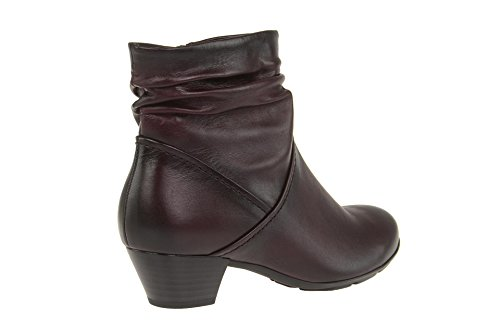 Gabor 55-637 Comfort Shoes - Botines de cuero mujer wine (Effekt)