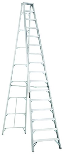 Louisville Ladder AS1016 300-Pound Duty Rating Aluminum Stepladder, 16-Foot (Ladder Ft Step 16)