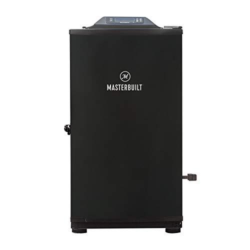 MasterBuilt Digital Elektro Smoker mit Bluetooth & Grillfunktion, Schwarz, 30-inch