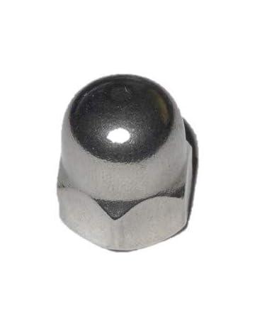 20 St/ücke Schutzkappe FAH318-A 18 mm Kunststoff GRAU Ziermutterkappe Sechskant Abdeckappe f/ür M12 ajile