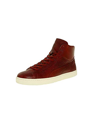 PUMA Men's States Mid Mii Hightop Sneaker, Sun/Dried Tomato/Whi, 10 M US 35901003