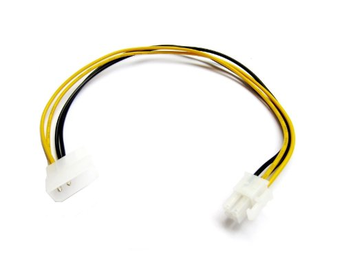 (Micro SATA Cables ATX P4 4-pin 12V Power Connector to Molex Cable Adapter)