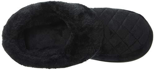 Clog para Pantuflas Mujer Negro Velour Dearfoams 1q5zYY