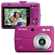 Polaroid i739 7MP 3x Optical/4x Digital Zoom Camera(Magenta)