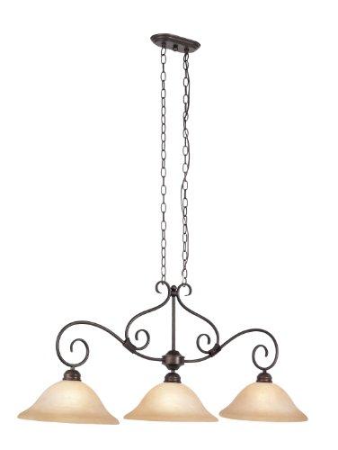 Rob 3 Light Pendant (Trans Globe Lighting CB-57700 ROB Victorian Three Island Light Pendant)