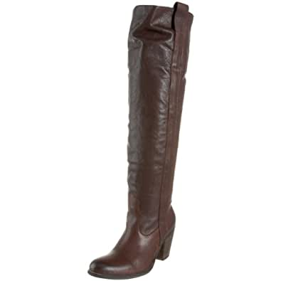 FRYE Women's Taylor Over-The-Knee Boot, Dark Brown, 9.5 M US