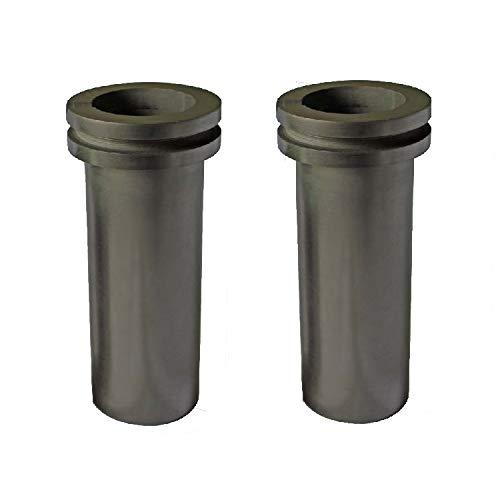 2 PCS Package 3 Kilo Capacity Graphite Melting Crucible
