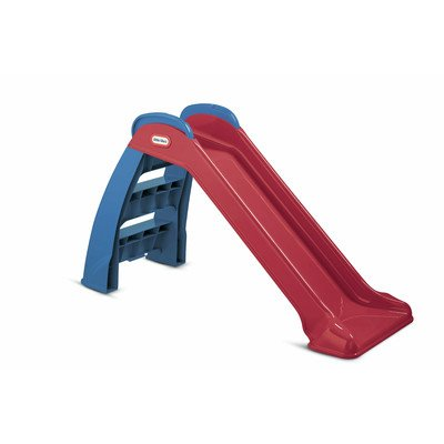 First Slide- Strong and Durable- Weatherproof and Water-Resistant- Bright and Vibrant Red and Blue Colors Instantly Liven Up Your Backyard- Non-Toxic- Perfectly Safe For Your Kids- (Pack of Two)*