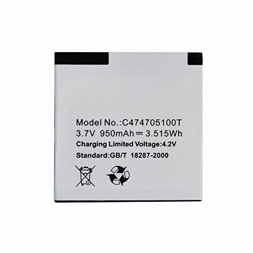 FidgetFidget OEM Genuine 950mAh Battery C474705100T BLU Dash Jr D140 D141S D141W