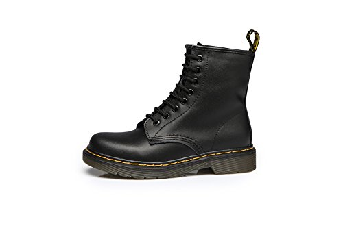 Tortor 1Bacha Fashion Leather Military Combat Boots For Women and Men