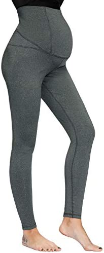 Women Maternity Over The Belly Active Lounge Comfy Capri Yoga Pants