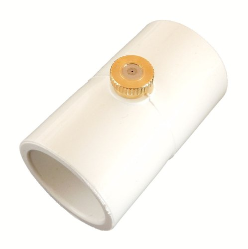 MrDrip PVC 1/2 Mist Coupling with .012 Brass Mist Nozzle (Bag of 25)