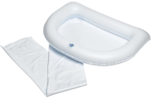 (Ableware Inflatable Crescent Shaped Shampoo Basin)