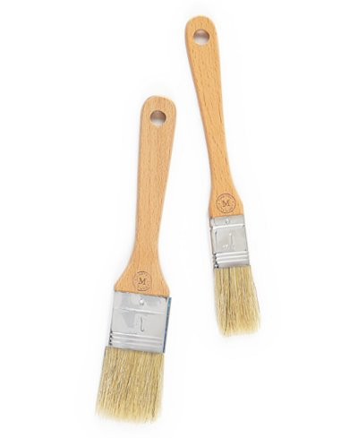 Martha Stewart Collection 2-Pc. Pastry Brush (Martha Stewart Holiday Decorating)