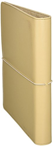 Wilson Jones WorkStyle Cut and Sewn Round Ring Binder, 1 Inch Capacity, Letter Size, Khaki, (Pack of 3)