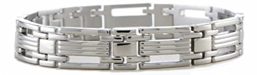 Men's Contemporary Link 11mm Titanium Bracelet, 8.75'' by The Men's Jewelry Store