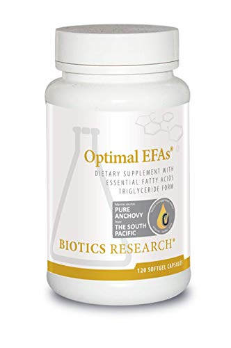 (Biotics Research Optimal EFAs©- Proprietary Blend of Fish, Flaxseed and Borage Oils. Balance of Omega-3, 6 and 9 Fatty Acids.Supports Immune, Inflammatory Responses,Cardiovascular Neurological Health)