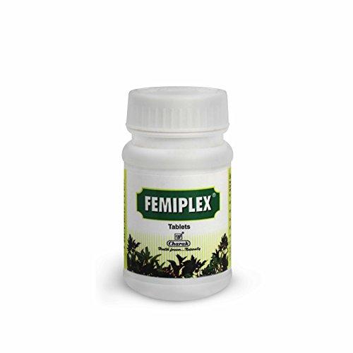Charak Pharma Femiplex Tablet for Leucorrhoea – 75 Tablets (Pack of 2)