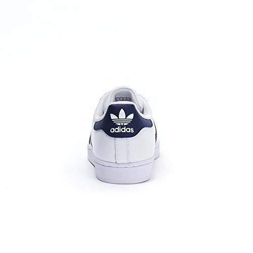 Basso Sneaker Superstar Navy adidas Uomo White Collo 2 a Multicolore qAxXT