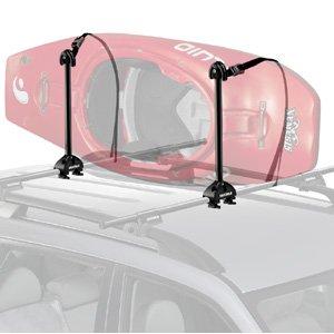 Yakima Kayak Stacker Rooftop Kayak Carrier with Tie-Downs, Outdoor Stuffs